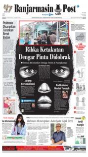 Cover Banjarmasin Post 14 Agustus 2018