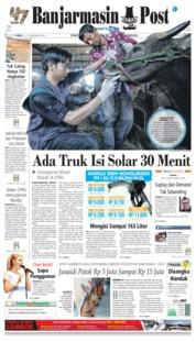 Cover Banjarmasin Post 15 Agustus 2018
