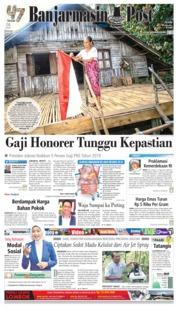 Cover Banjarmasin Post 17 Agustus 2018