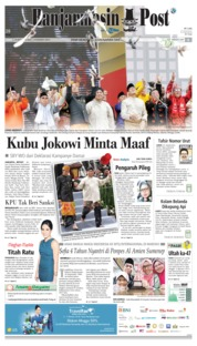 Cover Banjarmasin Post 24 September 2018