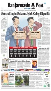 Cover Banjarmasin Post 26 September 2018