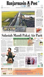 Cover Banjarmasin Post 17 Oktober 2018