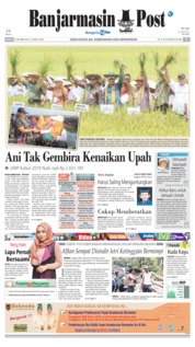 Cover Banjarmasin Post 19 Oktober 2018