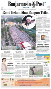 Cover Banjarmasin Post 20 Oktober 2018