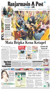 Cover Banjarmasin Post 21 November 2018