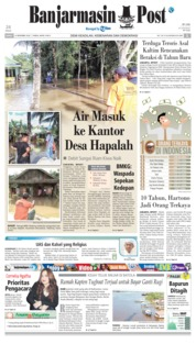 Cover Banjarmasin Post 14 Desember 2018