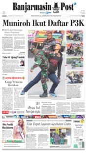 Cover Banjarmasin Post 16 Desember 2018