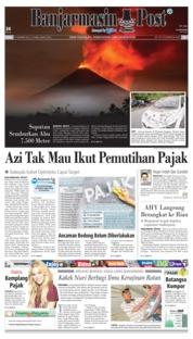 Cover Banjarmasin Post 17 Desember 2018