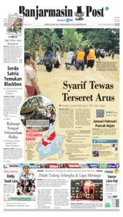 Cover Banjarmasin Post 15 Januari 2019
