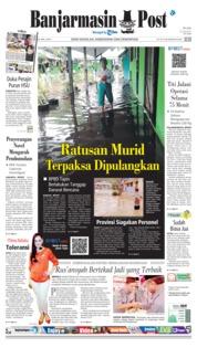 Cover Banjarmasin Post 16 Januari 2019