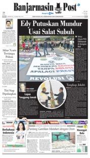 Cover Banjarmasin Post 21 Januari 2019