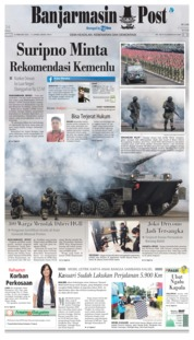 Banjarmasin Post Cover 16 February 2019