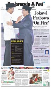 Banjarmasin Post Cover 17 February 2019