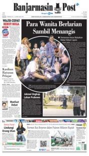 Cover Banjarmasin Post 18 Februari 2019