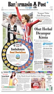 Cover Banjarmasin Post 20 Februari 2019