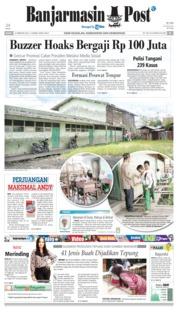 Cover Banjarmasin Post 22 Februari 2019
