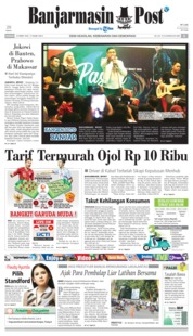 Banjarmasin Post Cover 24 March 2019
