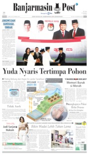 Cover Banjarmasin Post 14 April 2019