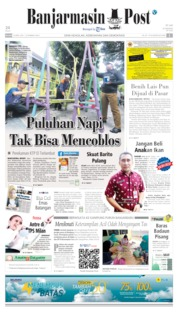 Cover Banjarmasin Post 16 April 2019