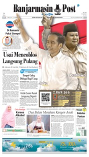 Cover Banjarmasin Post 17 April 2019