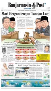 Banjarmasin Post Cover 18 April 2019