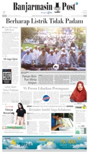 Banjarmasin Post Cover 21 April 2019