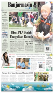 Banjarmasin Post Cover 24 April 2019