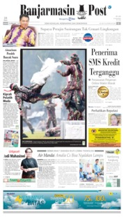 Banjarmasin Post Cover 25 April 2019