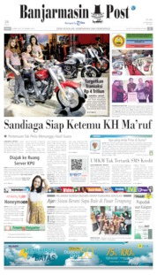 Banjarmasin Post Cover 26 April 2019