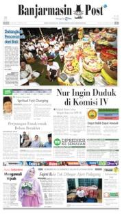 Banjarmasin Post Cover 12 May 2019
