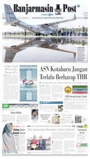 Banjarmasin Post Cover 15 May 2019