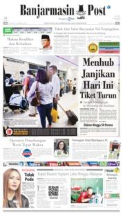 Banjarmasin Post Cover 16 May 2019