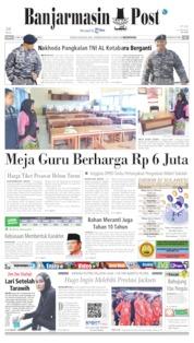 Banjarmasin Post Cover 17 May 2019