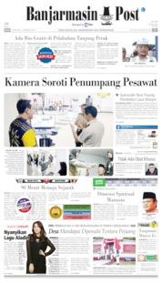 Banjarmasin Post Cover 18 May 2019