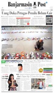 Banjarmasin Post Cover 19 May 2019