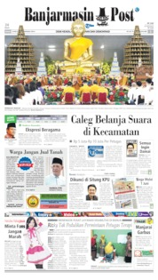 Banjarmasin Post Cover 20 May 2019