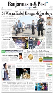 Banjarmasin Post Cover 21 May 2019