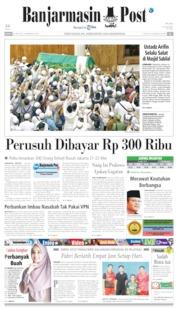 Banjarmasin Post Cover 24 May 2019