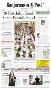 Banjarmasin Post Cover 27 May 2019