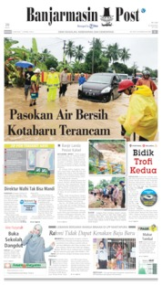 Cover Banjarmasin Post 09 Juni 2019