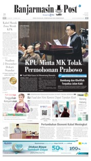 Banjarmasin Post Cover 19 June 2019