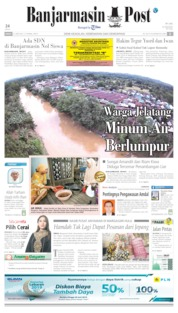 Cover Banjarmasin Post 21 Juni 2019