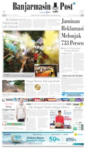 Banjarmasin Post Cover 23 June 2019