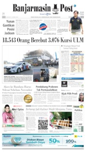 Banjarmasin Post Cover 25 June 2019
