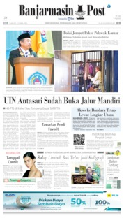 Cover Banjarmasin Post 26 Juni 2019