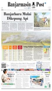 Banjarmasin Post Cover 09 July 2019