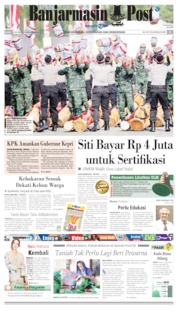 Banjarmasin Post Cover 11 July 2019