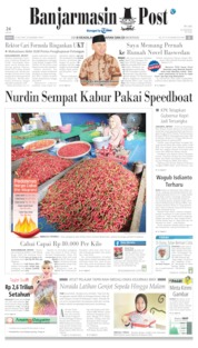 Banjarmasin Post Cover 13 July 2019