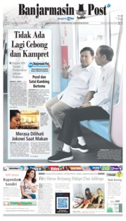 Banjarmasin Post Cover 14 July 2019