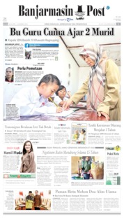 Banjarmasin Post Cover 16 July 2019